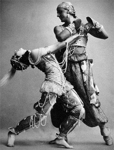 Ида Рубинштейн в балете Шехерезада