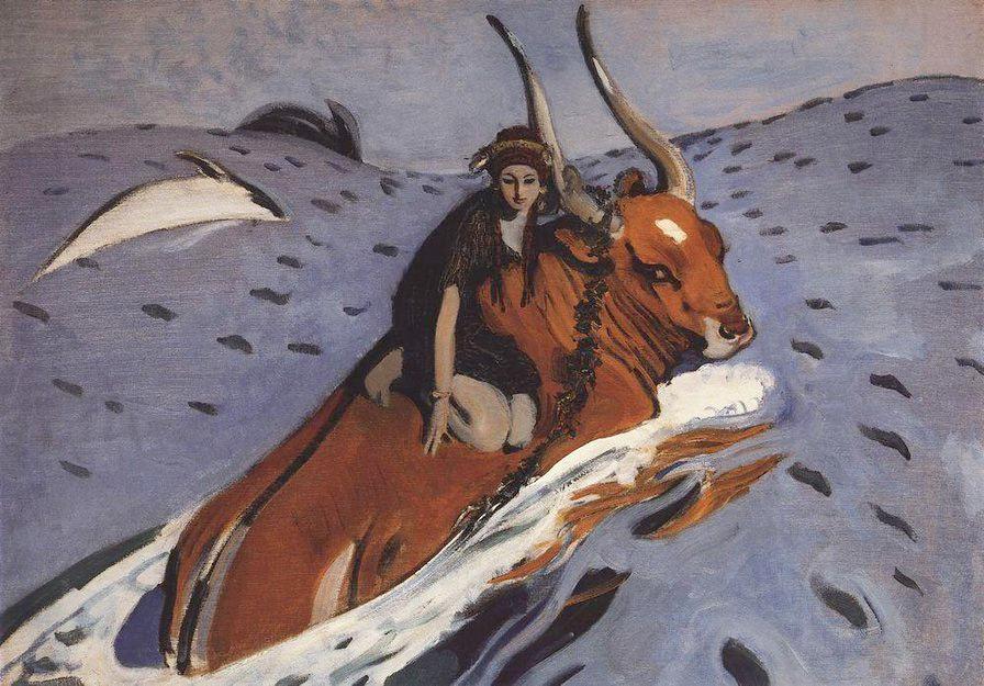 Картон, темпера. 71x98 см. Государственная Третьяковская галерея, Москва.