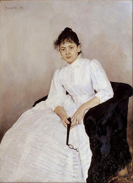 436px-valentin_alexandrovich_serov_-_portrait_of_maria_f-_jakuntjikova