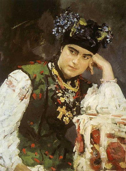 439px-sofia_dragomirova_by_v-serov_1889_tatarstan_museum