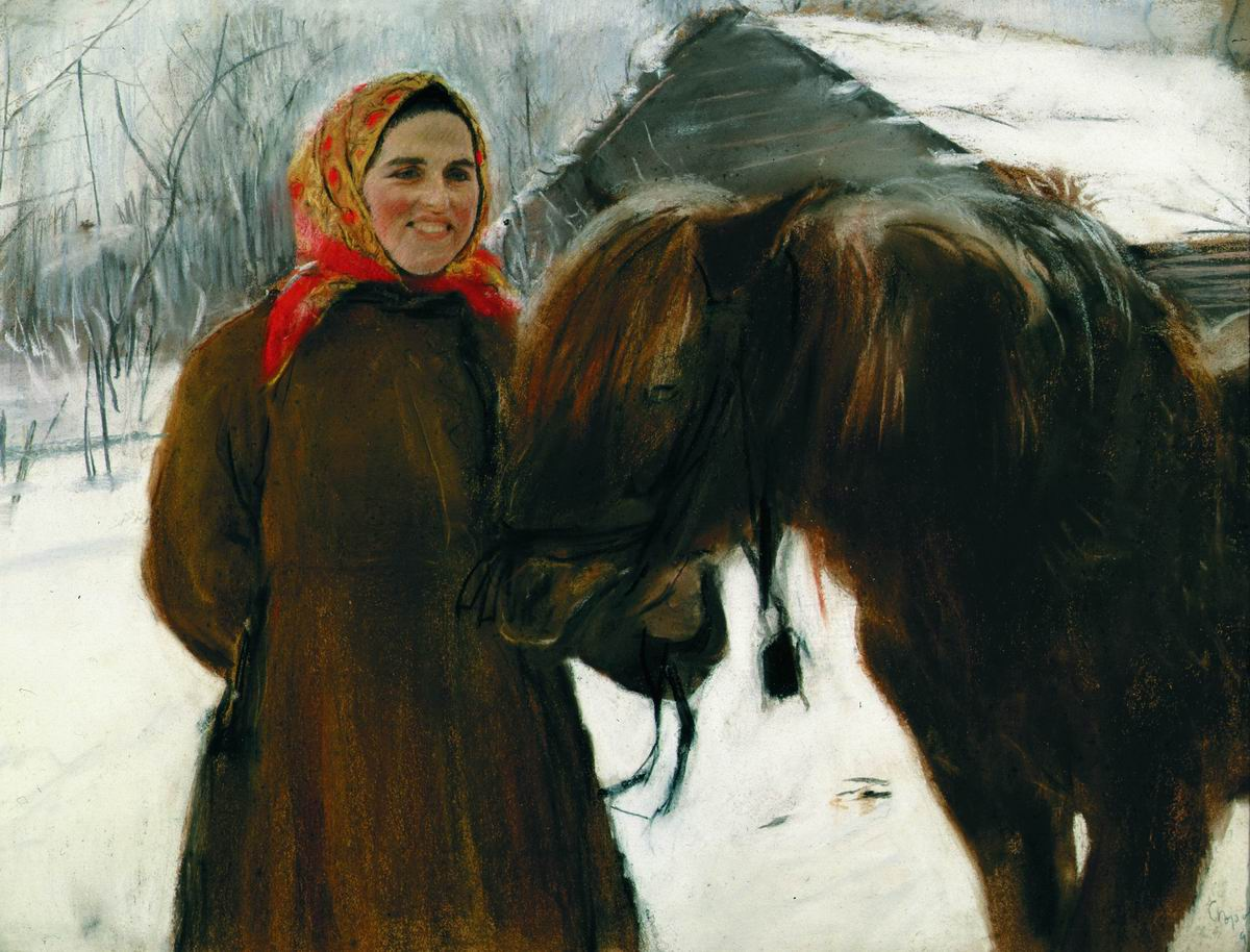 serov_in_a_village